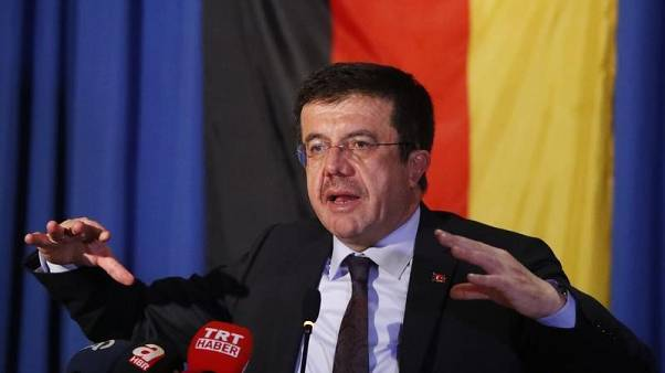 Turkish minister says reports that Germany working to cut financing unfounded