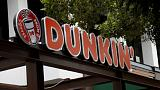 Dunkin' Donuts owner's sales rise 8 percent in third quarter