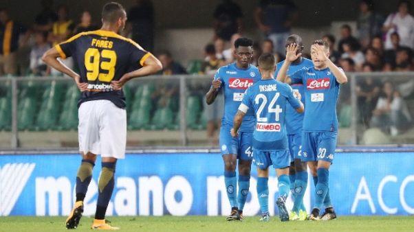 Violenze prima di Verona-Napoli,25 Daspo