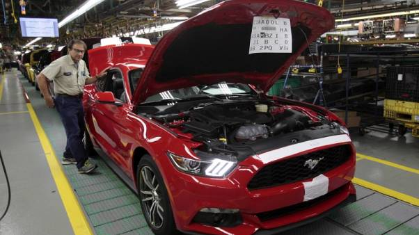 Ford third-quarter profit lifted by U.S. sales, cost cutting