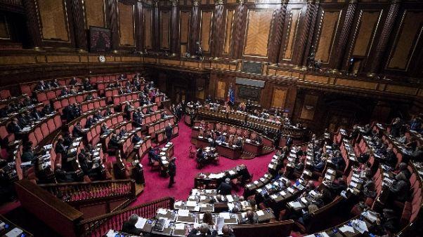 Manovra: sessione bilancio Senato il 31