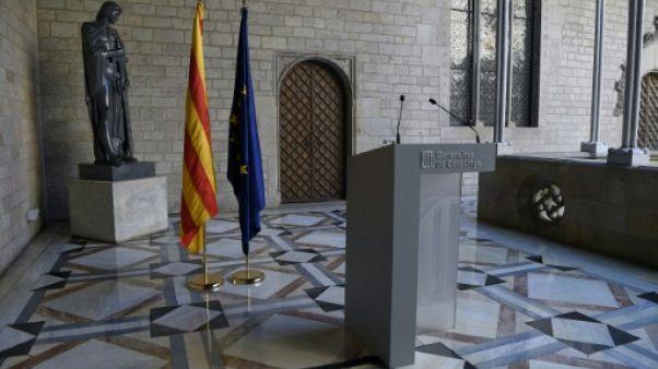 Le président catalan s'exprimera finalement à 15H00 GMT