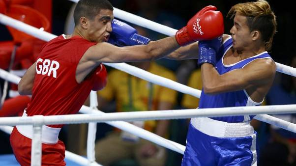 Team GB boxer Ali tests positive for a steroid