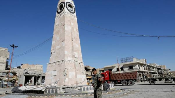 After Islamic State, ruined Raqqa fears new strife