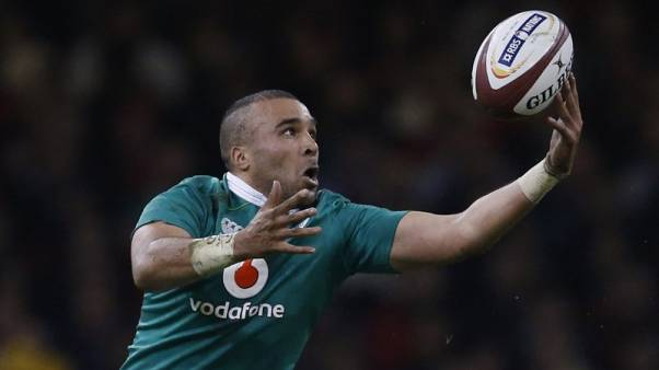 Rugby - Zebo out, Bundee Aki in for Ireland's November tests