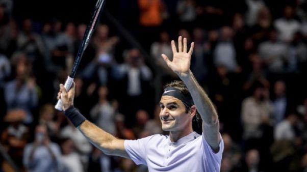 Tennis: Federer, intraitable contre Paire, attend Mannarino à Bâle
