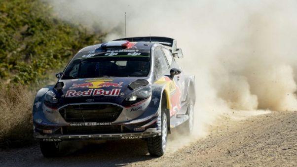 Rallye de Grande-Bretagne: Ogier prend le meilleur départ