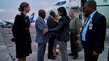 U.S. envoy Haley makes emotional visit to Congo displaced camp