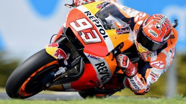 Moto: Marquez, première chance pour un 4e titre mondial
