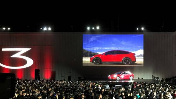 Tesla cuts Model 3 part orders to Taiwan supplier Hota -report