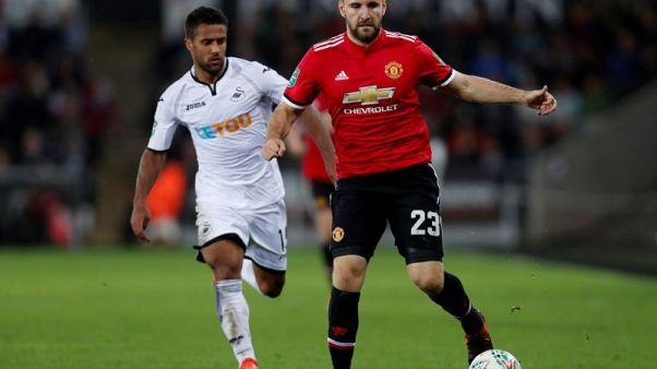 Man United's Shaw optimistic of Pochettino reunion