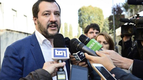 Salvini, dopo manovra sciogliere Camere