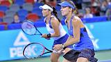 Retiring Hingis secures year-end top ranking in doubles