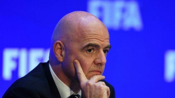 Conflit israélo-palestinien: la Fifa refuse de s'en mêler