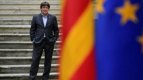 Espagne: le parquet poursuivra le président catalan pour rébellion
