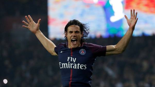 Cavani double spurs PSG to 3-0 win over Nice