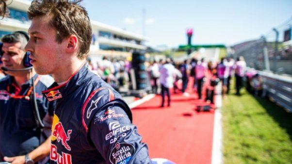 GP du Mexique: Kvyat ne fait plus partie de la filière Red Bull