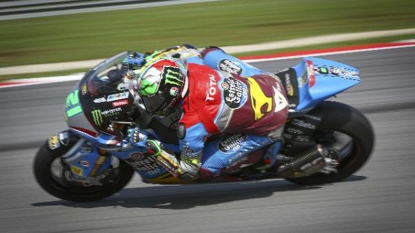 Moto2: Malesia, Morbidelli in pole