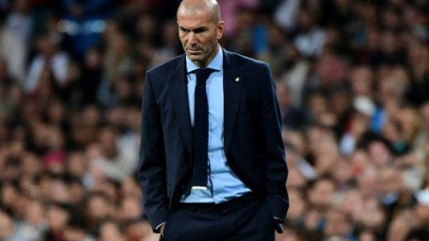 """Gérone-Real: Zidane prône la """"normalité"""" malgré le """"contexte"""" catalan"""