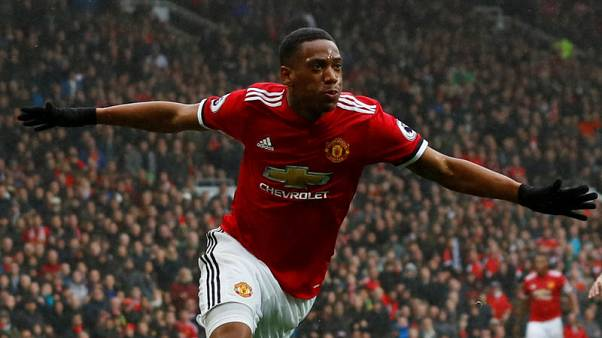 Martial strike sinks Spurs at Old Trafford