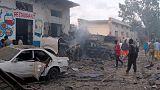 Huge blast in Somalia's capital Mogadishu - Reuters witness
