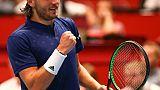 Tennis: Pouille en finale de haute lutte à Vienne