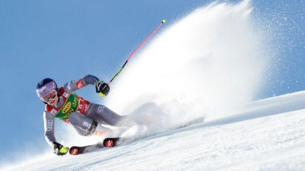 """Ski-alpin: Worley """"contente"""" de sa """"réaction d'orgueil"""" lors du géant de  Sölden"""