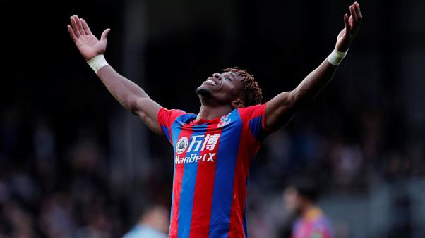 Zaha's last-gasp equaliser salvages draw for Palace against West Ham