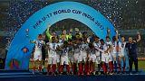 Foden brace helps England clinch maiden under-17 World Cup