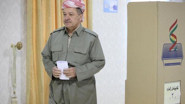 Iraqi Kurdistan leader Barzani won't extend term beyond November 1 - Kurdish official