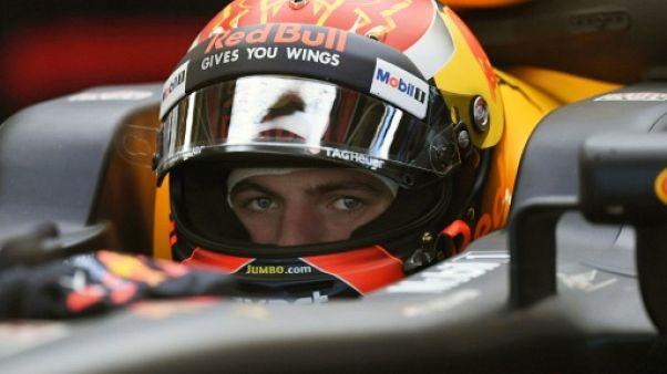 GP du Mexique: Verstappen le plus rapide lors des essais libres 3