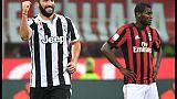 Milan-Juventus 0-2 nell'anticipo
