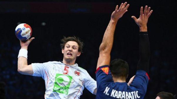 Golden League  de hand: les Français chutent face à la Norvège