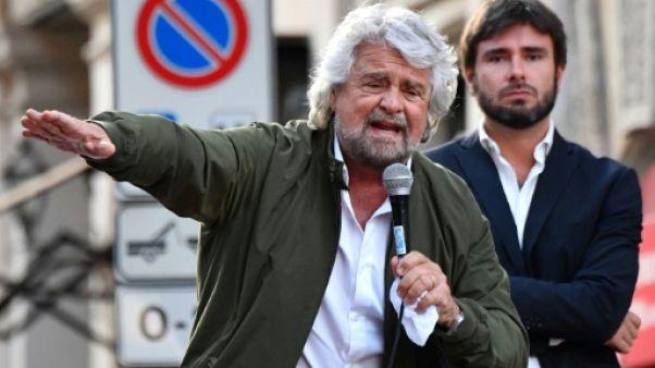 Beppe Grillo en campagne en Sicile à une semaine de régionales test