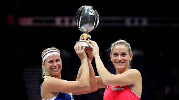 Babos and Hlavackova rally for WTA Finals doubles triumph