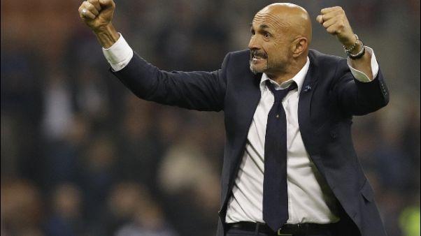 Inter: carica Spalletti, vincere sempre