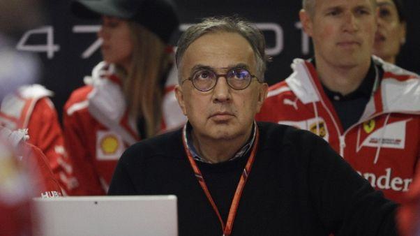 F1:Marchionne,fine stagione a testa alta