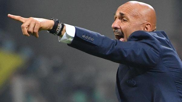 """Inter:Spalletti """"Il difficile viene ora"""""""