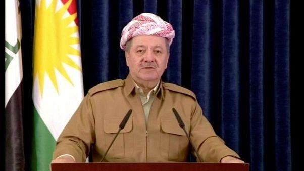 Historic Kurdish leader Barzani announces resignation as independence vote backfires