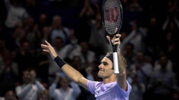 Tennis: Federer s'impose à Bâle pour la 8e fois