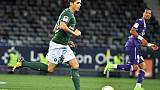 Ligue 1: Toulouse ralentit encore Saint-Etienne