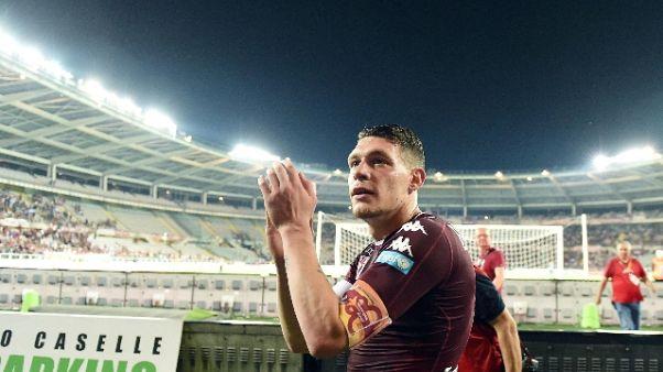 Torino,Belotti in campo dal primo minuto