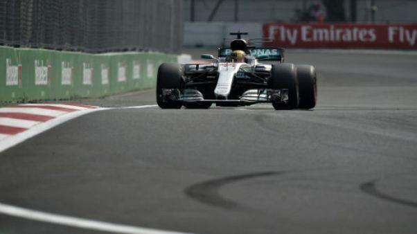 GP du Mexique: Lewis Hamilton, la marque à succès de la F1