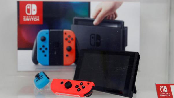 Nintendo lifts annual profit outlook on strong Switch console sales
