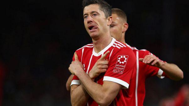 Bayern striker Lewandowski out of Celtic Champions League clash