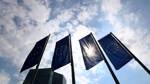 Euro zone banks can cope with low rates for years, ECB paper says