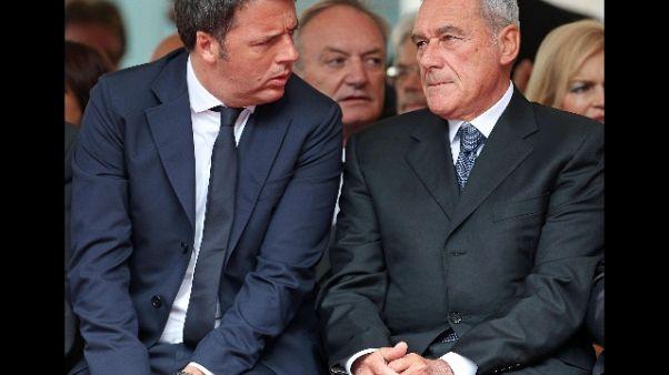 Renzi, grande rispetto per Grasso