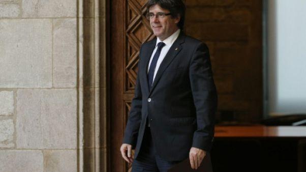 Catalogne: conférence de presse de Puigdemont à Bruxelles à 11H30 GMT