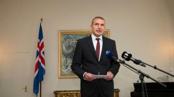 Islande: les leaders des partis rencontrent le président