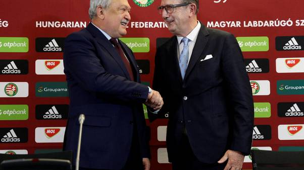 Soccer-Hungary appoint Belgian Leekens as coach